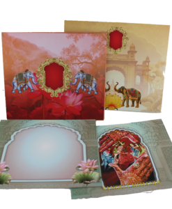 Wedding Invitation Cards | Indian Wedding Cards | Best Wedding Cards 100-247x300 VC-100