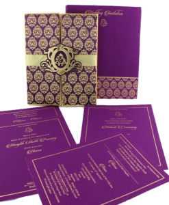 Wedding Invitation Cards | Indian Wedding Cards | Best Wedding Cards 107-247x300 VC-107