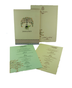 Wedding Invitation Cards | Buy Online Wedding Cards In Ahmedabad | Best Wedding Cards 108-247x300 VC-108