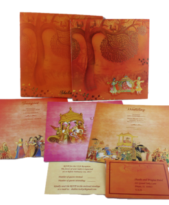 Wedding Invitation Cards | Indian Wedding Cards | Best Wedding Cards 115-247x300 VC-115