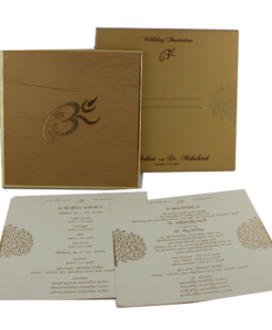 Wedding Invitation Cards | Buy Online Wedding Cards In Ahmedabad | Best Wedding Cards 120-247x300 VC-120