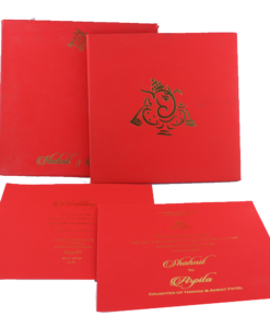 Wedding Invitation Cards | Buy Online Wedding Cards In Ahmedabad | Best Wedding Cards 126-247x300 VC-126