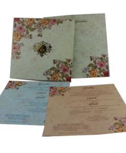 Wedding Invitation Cards   Indian Wedding Cards   Best Wedding Cards 143-247x300 VC-143