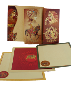 Wedding Invitation Cards | Indian Wedding Cards | Best Wedding Cards 148-247x300 VC-148