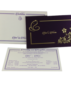 Wedding Invitation Cards | Buy Online Wedding Cards In Ahmedabad | Best Wedding Cards 186-247x300 VC-186
