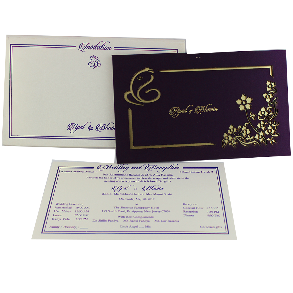 VC-186 – Wedding Invitation Cards | Buy Online Wedding Cards In ...