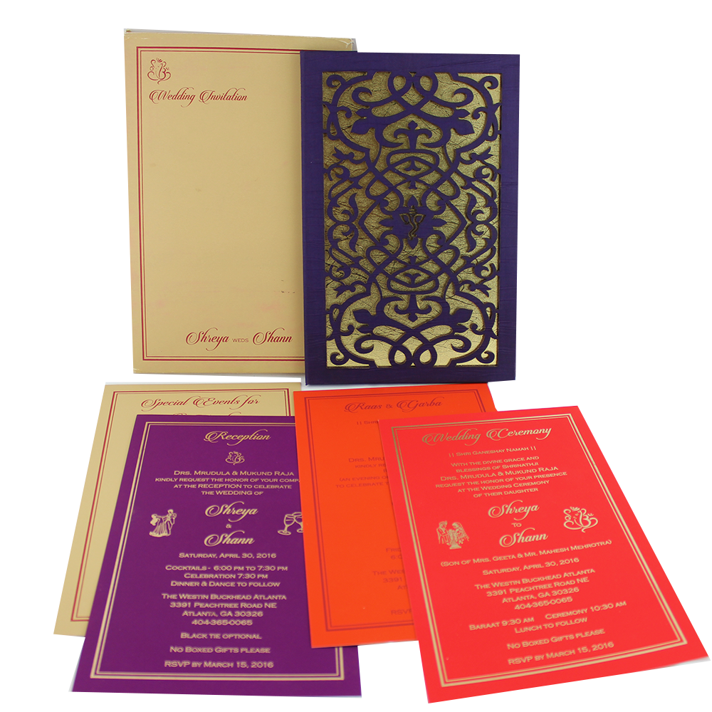 VC-187 – Wedding Invitation Cards | Indian Wedding Cards | Best ...