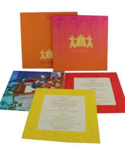 Wedding Invitation Cards | Indian Wedding Cards | Best Wedding Cards 188-247x300 VC-188