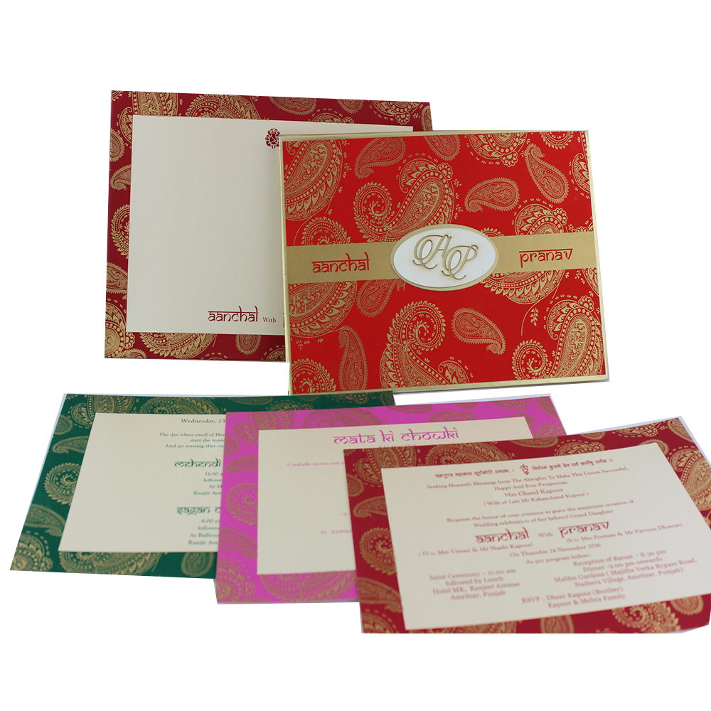 VC-201 – Wedding Invitation Cards | Buy Online Wedding Cards In ...