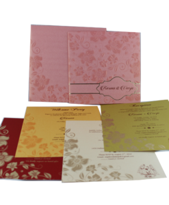 Wedding Invitation Cards | Indian Wedding Cards | Best Wedding Cards 208-247x300 VC-208