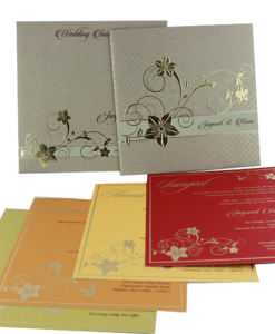 Wedding Invitation Cards | Indian Wedding Cards | Best Wedding Cards 209-247x300 VC-209