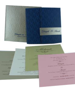 Wedding Invitation Cards | Buy Online Wedding Cards In Ahmedabad | Best Wedding Cards 210-247x300 VC-210