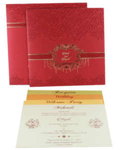 Wedding Invitation Cards | Indian Wedding Cards | Best Wedding Cards 221-247x300 VC-221