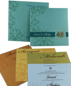Wedding Invitation Cards | Indian Wedding Cards | Best Wedding Cards 227-247x300 VC-227