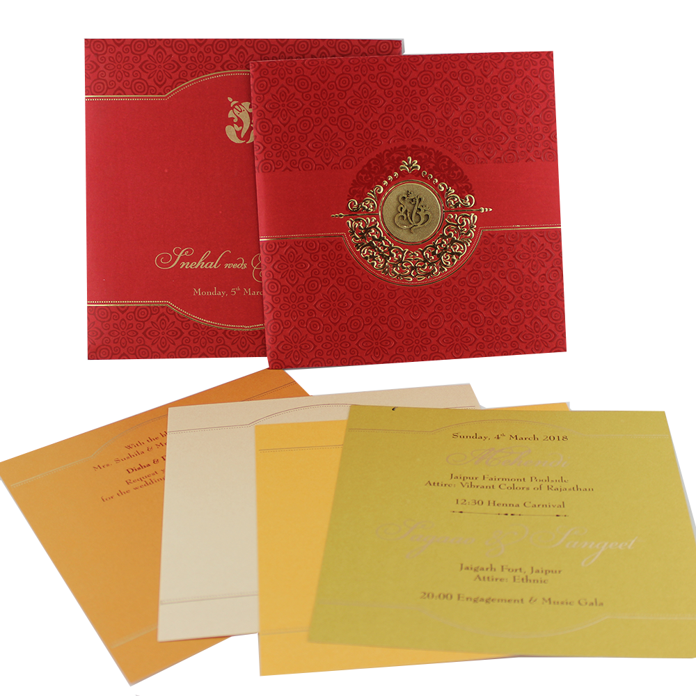 VC-230 – Wedding Invitation Cards | Indian Wedding Cards | Best ...