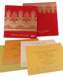 Wedding Invitation Cards | Buy Online Wedding Cards In Ahmedabad | Best Wedding Cards 232-247x300 VC-232