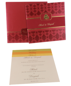 Wedding Invitation Cards | Buy Online Wedding Cards In Ahmedabad | Best Wedding Cards 235-247x300 VC-235