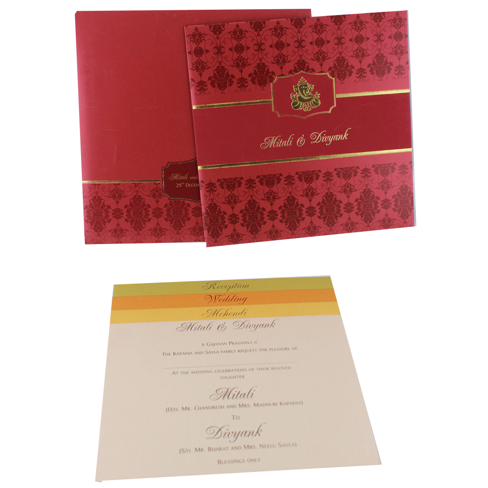 VC-235 – Wedding Invitation Cards | Indian Wedding Cards | Best ...