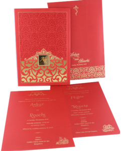 Wedding Invitation Cards | Buy Online Wedding Cards In Ahmedabad | Best Wedding Cards 264-247x300 VC-264