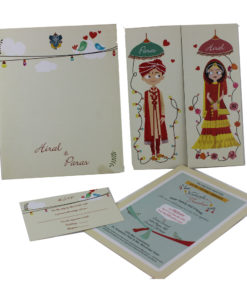 Wedding Invitation Cards | Indian Wedding Cards | Best Wedding Cards 27-247x300 VC-27