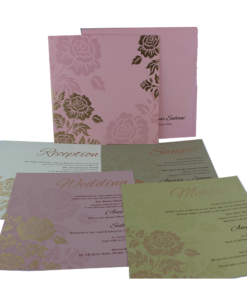 Wedding Invitation Cards | Buy Online Wedding Cards In Ahmedabad | Best Wedding Cards 281-247x300 VC-281