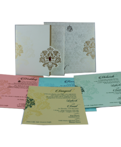 Wedding Invitation Cards | Indian Wedding Cards | Best Wedding Cards 283-247x300 VC-283