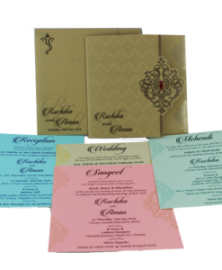 Wedding Invitation Cards | Indian Wedding Cards | Best Wedding Cards 287-247x300 VC-287