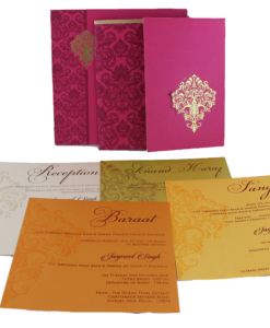 Wedding Invitation Cards | Buy Online Wedding Cards In Ahmedabad | Best Wedding Cards 288-247x300 VC-288
