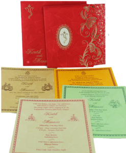Wedding Invitation Cards | Buy Online Wedding Cards In Ahmedabad | Best Wedding Cards 289-247x300 VC-289