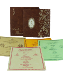 Wedding Invitation Cards | Buy Online Wedding Cards In Ahmedabad | Best Wedding Cards 290-247x300 VC-290