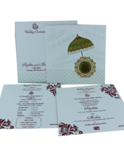 Wedding Invitation Cards | Buy Online Wedding Cards In Ahmedabad | Best Wedding Cards 291-247x300 VC-291