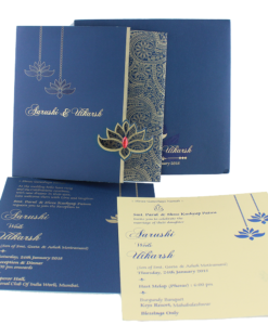 Wedding Invitation Cards | Buy Online Wedding Cards In Ahmedabad | Best Wedding Cards 292-247x300 VC-292