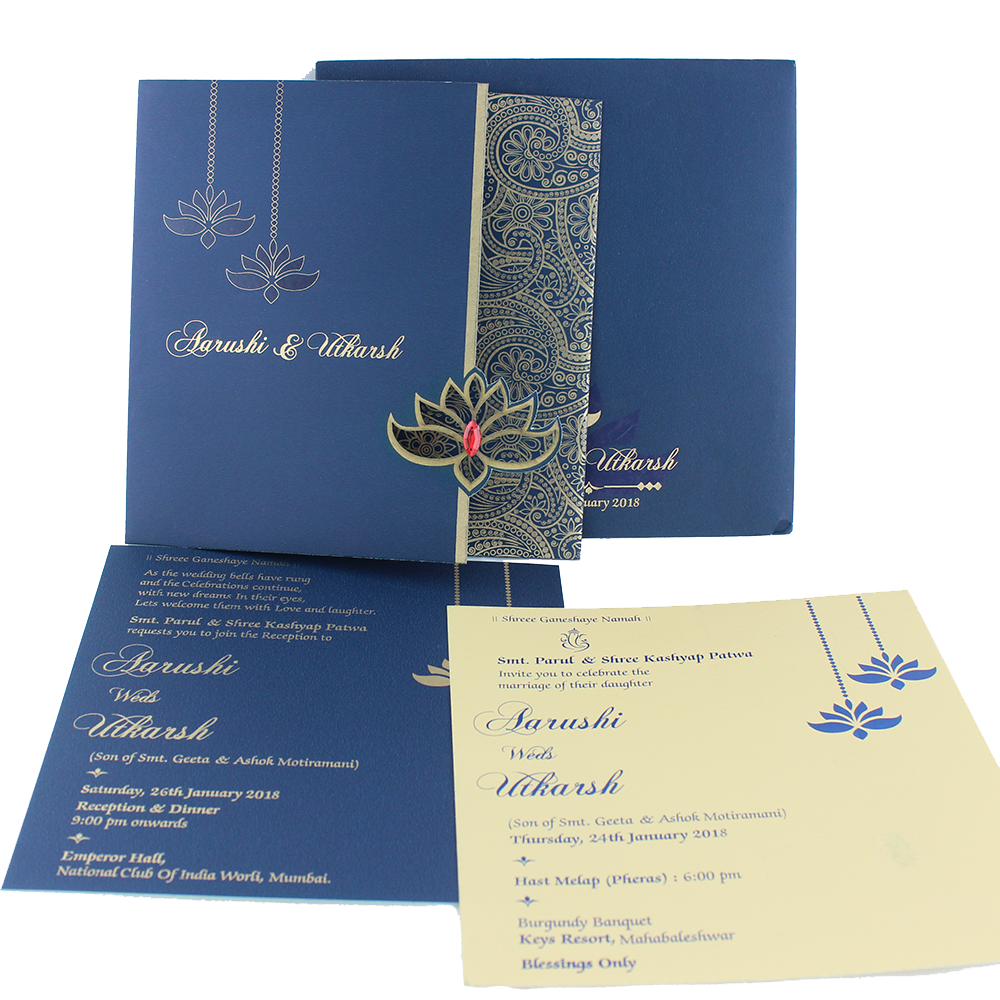 VC-292 – Wedding Invitation Cards | Indian Wedding Cards | Best Wedding  Cards