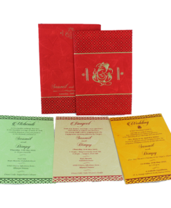 Wedding Invitation Cards | Buy Online Wedding Cards In Ahmedabad | Best Wedding Cards 297-247x300 VC-297