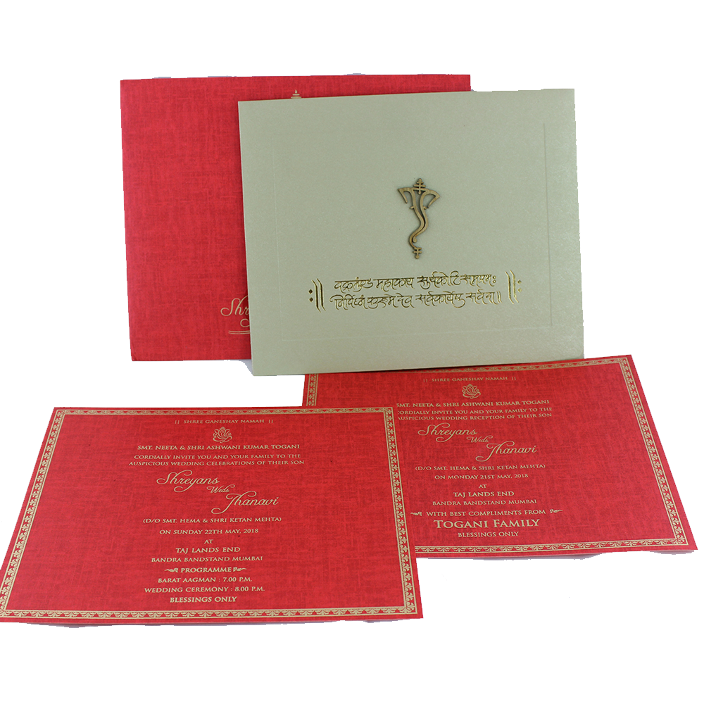 VC-298 – Wedding Invitation Cards | Indian Wedding Cards | Best ...