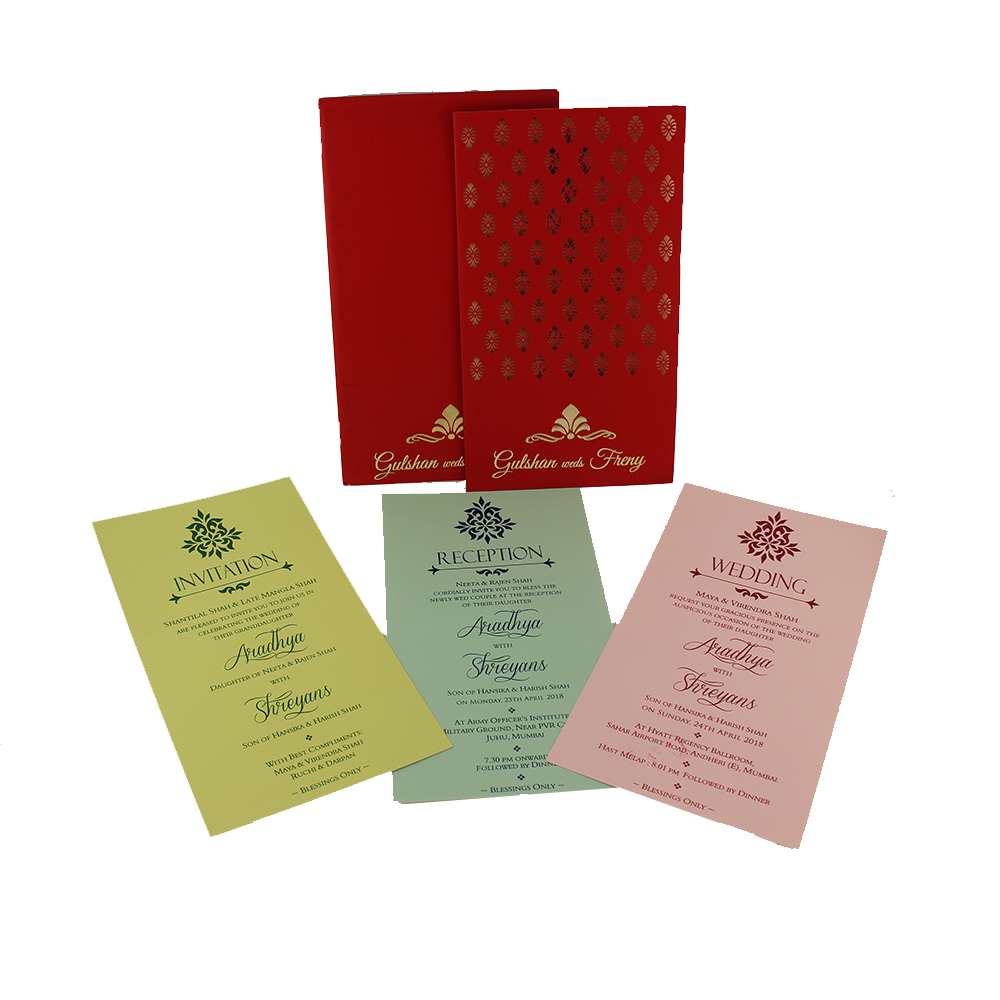 VC-55 – Wedding Invitation Cards | Indian Wedding Cards | Best ...