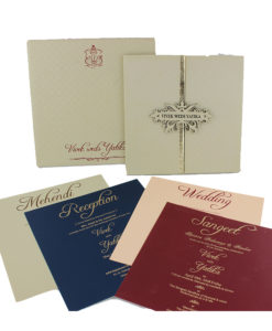 Wedding Invitation Cards | Buy Online Wedding Cards In Ahmedabad | Best Wedding Cards 63-247x300 VC-63