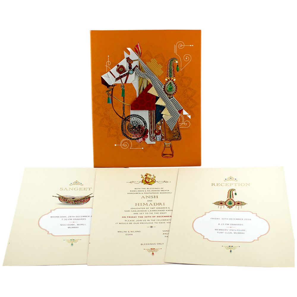 VC-8 – Wedding Invitation Cards | Buy Online Wedding Cards In ...