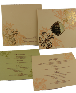 Wedding Invitation Cards | Buy Online Wedding Cards In Ahmedabad | Best Wedding Cards 87-247x300 VC-87