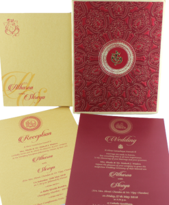 Wedding Invitation Cards | Indian Wedding Cards | Best Wedding Cards 93-247x300 VC-93