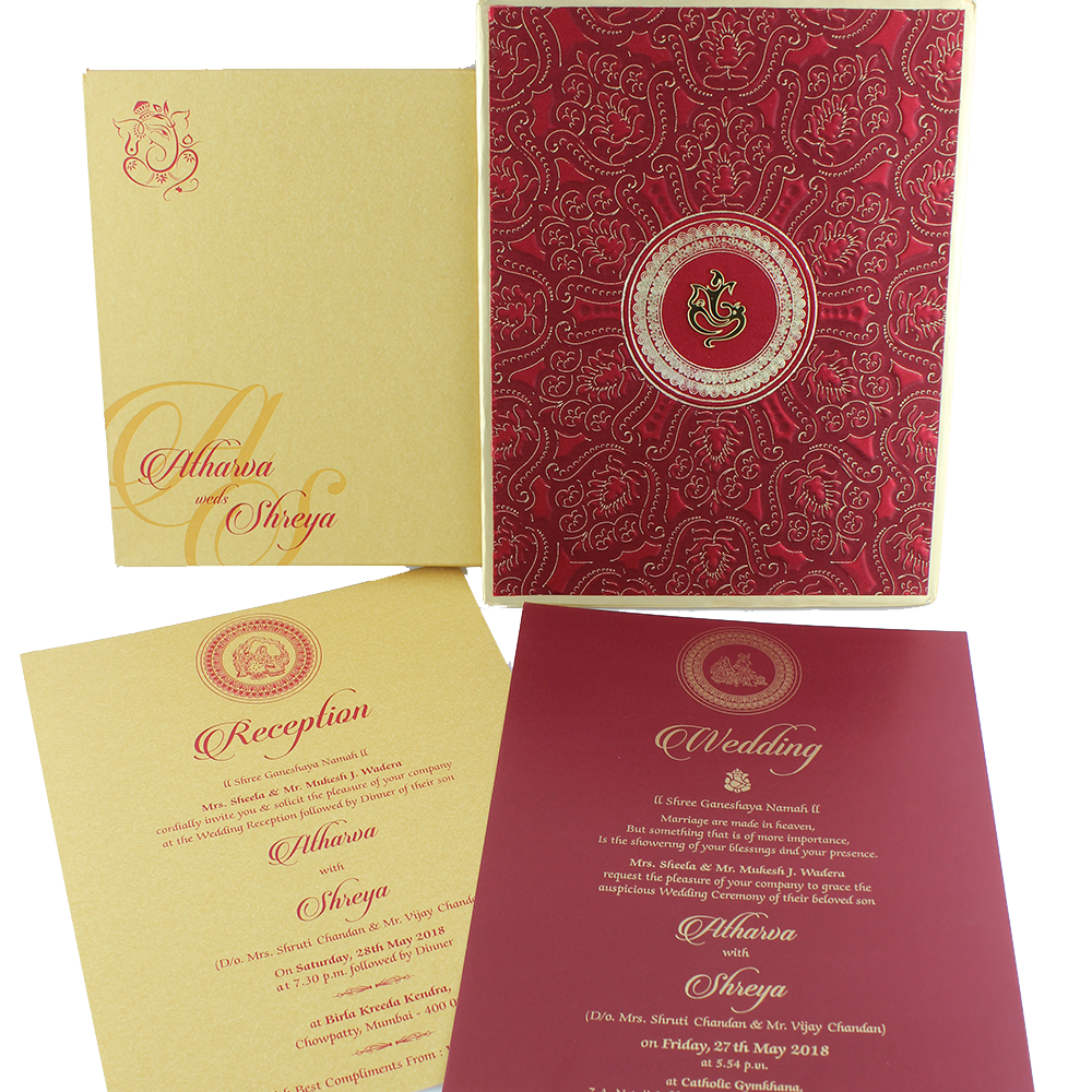 Attractive Catholic Wedding Invitation Collection - Invitations and ...