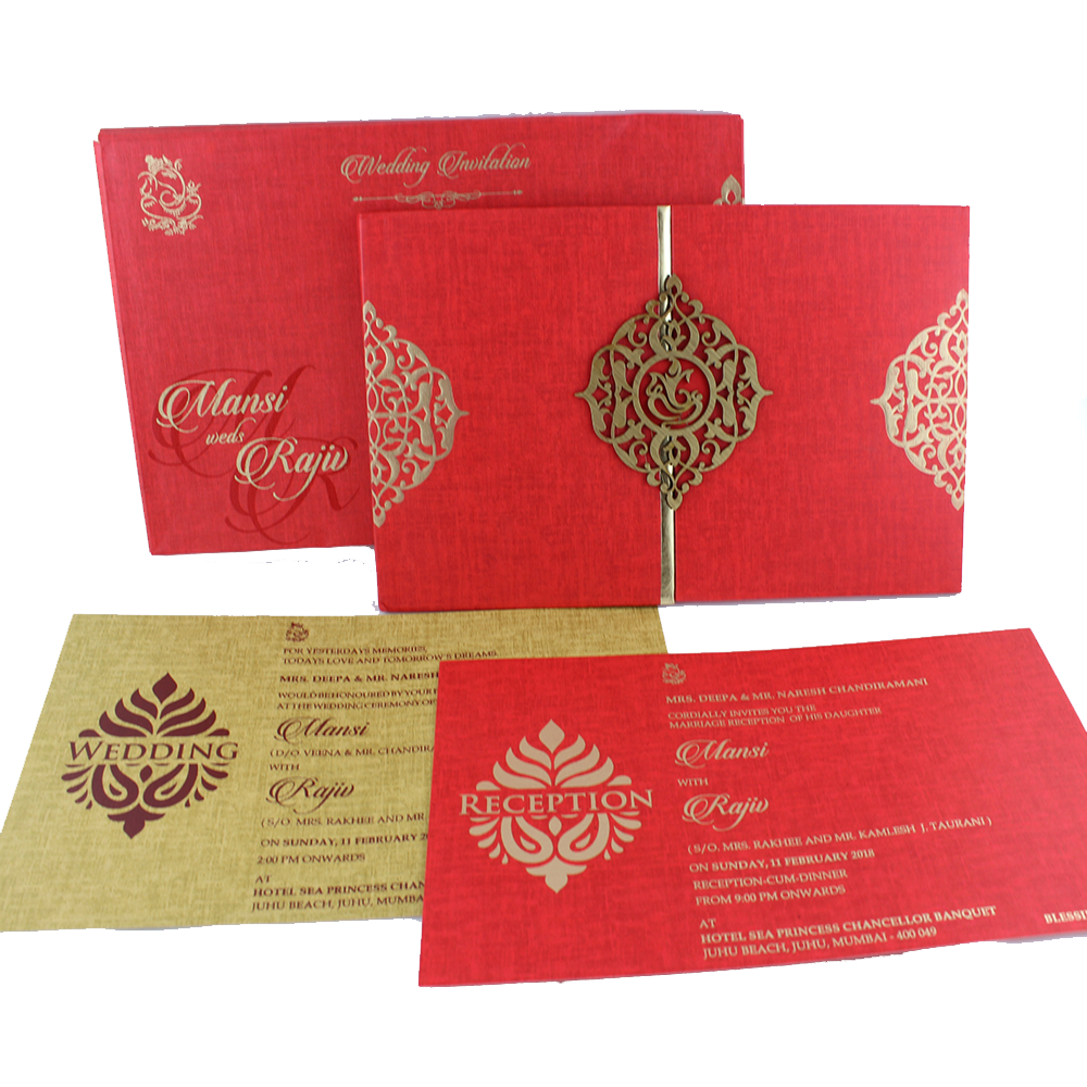 VC-94 – Wedding Invitation Cards | Buy Online Wedding Cards In ...