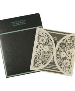 Wedding Invitation Cards | Indian Wedding Cards | Best Wedding Cards ivory-shimmery-floral-themed-laser-cut-wedding-invitations-cin-1594_5-247x300 VC-505