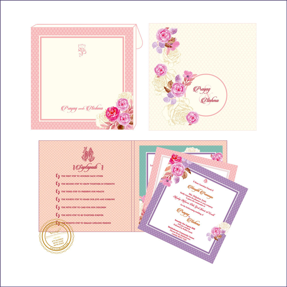 Wedding Card – 12 | Fully Customized | Indian Wedding Card | Top ...