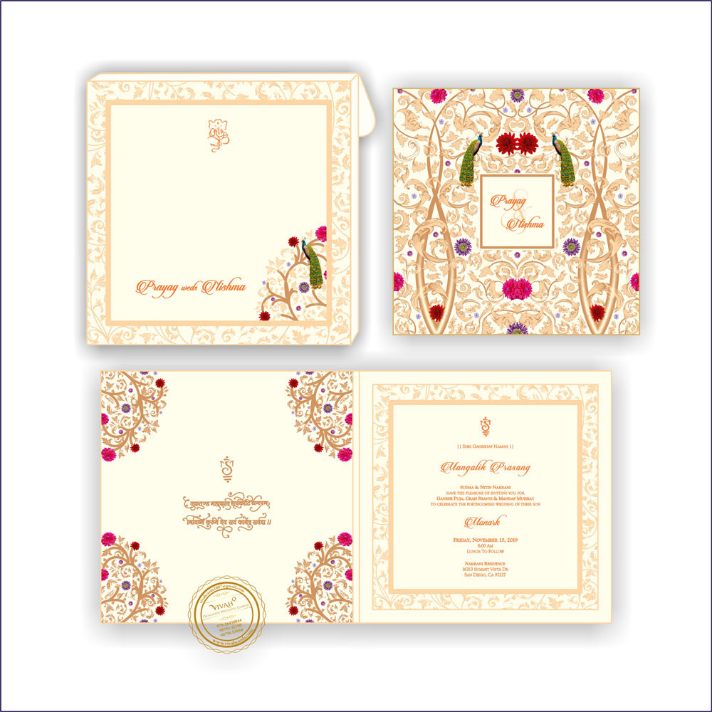 Wedding Card – 13 | Fully Customized | Indian Wedding Card | Top ...
